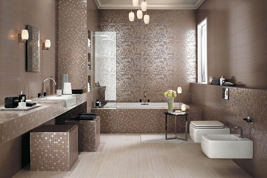 Дизайн ванной итальянская плитка