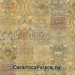 Декоративный элемент ARIES T Biancone  Mix Gold  14,8x14,8x1