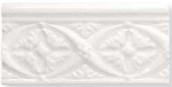 Декоративный элемент ADMO4002 RELIEVE BIZANTINO C/C BLANCO 7,5X15