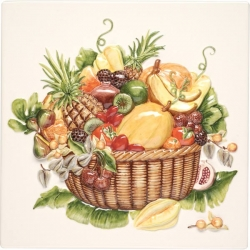 Декоративный элемент KHP5739B EXOTIC FRUITS PLAQUE 30х30