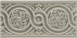 Декоративный элемент ADNT5061 Relieve Flores Smoke 7,5x15