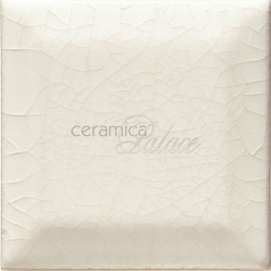 Декоративный элемент CKA9010 Brilliant White Crackle Metro Finishing Piece 7,5х7,5