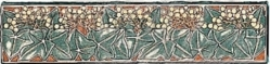 Бордюр 6051B Multi-Colour on Colonial White, Ivy quarter tile 15,2x3,8x7