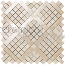 Настенная плитка 9MVA Marvel Pro Travertino Alabastrino Diagonal Mosaic  30.5x30.5
