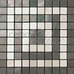 Декоративный элемент ASNB Marvel Grey/Moon Angolo Mosaico  18,5x18,5