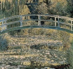 Декоративный элемент 6362 Monet  The Water-Lily Pond 38,0 x 39,5