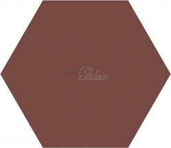 Декоративный элемент L4420HEX Loose HEX Smooth BrickRed 11,5x10x5,75