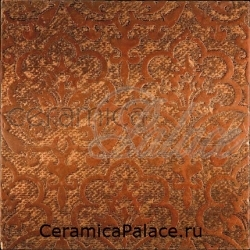 Декоративный элемент REGENT Fondo Rame Decoro Travertino Rosso 30,5 x 30,5