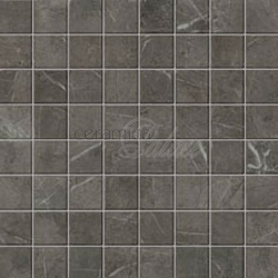 Настенная плитка ASLA Marvel Grey Mosaico Matt  30x30