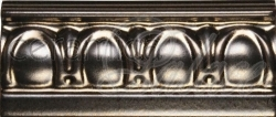 Бордюр GNE9906 Border EGG & DART, Antique Bronze 15,2x6,5